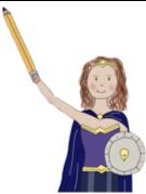 Wender Woman cartoon figure