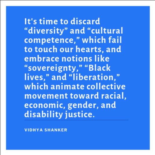 V. Shanker quote