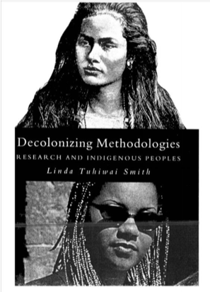 Decolonizing Methodologies by Linda Tuhiwai Smith book cover