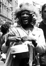 Marsha P. Johnson: A Black, Transgender Woman, revolutionary, sex worker, community organizer, and participant in the 1969 Stonewall Riots.