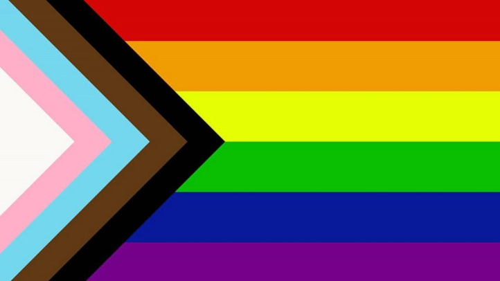 The Progress Pride Flag, Designed by Daniel Quasar