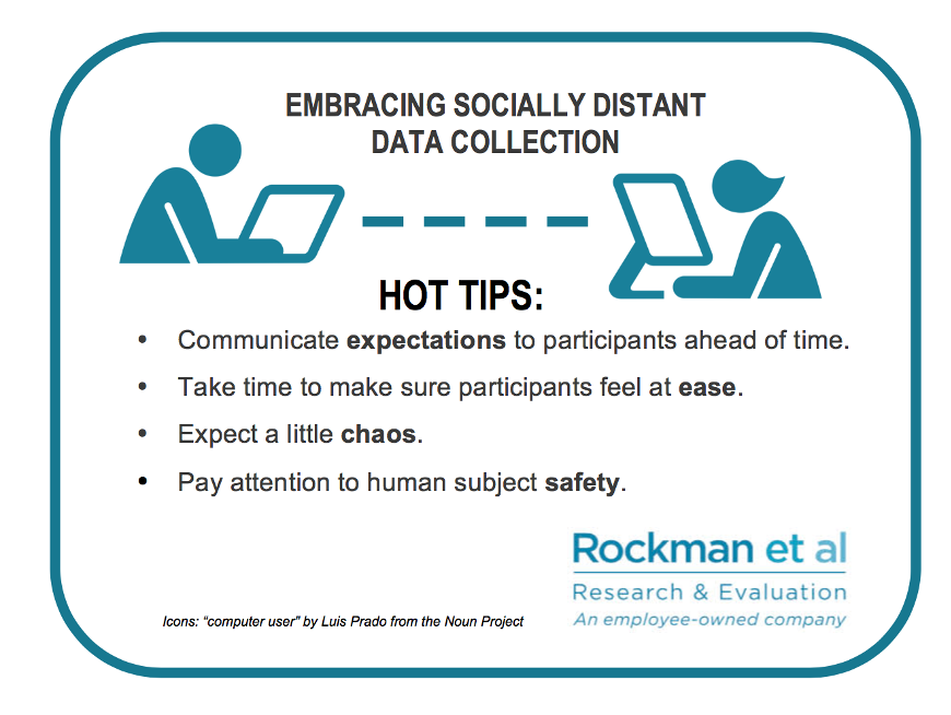Embracing socially distant data collection tips