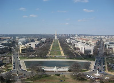 Mall View From Capitol Dome