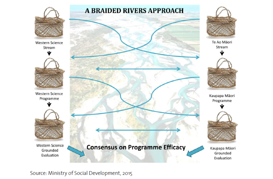 NZ braided rivers diagram
