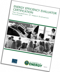 Energy Efficiency Evaluator Certification