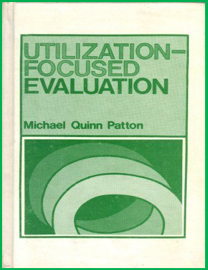 1st edition of Utilization-Focused Evaluation, 1978